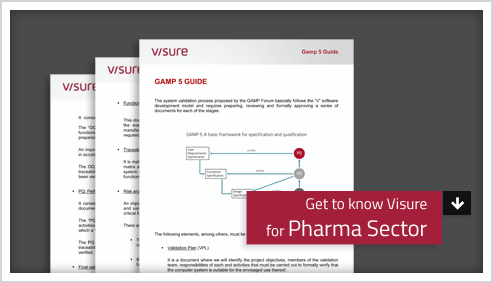 Get to know Visure for Pharma Sector