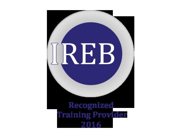IREB Recognized Provider
