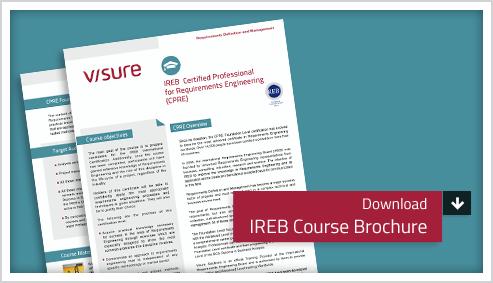 IREB Course Brochure