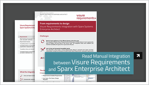 Integration with Sparx Enterprise Architect
