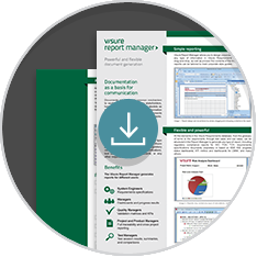 Visure Report Manager Product Sheet