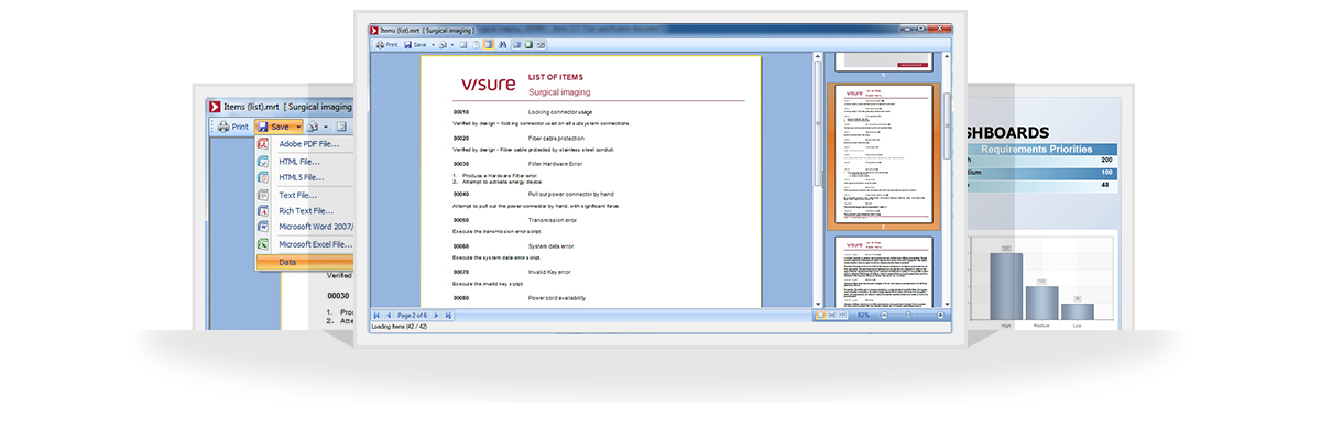 Visure Report Manager