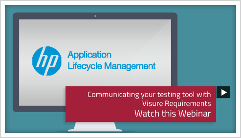 webinar implementation tool hp and Visure Requirements